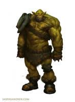 Goblin Gladiator by JasperSandner