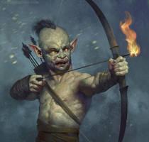 Goblin Archer by JasperSandner