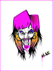 encre 02 Elke by gouine