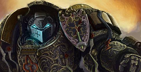 Baroque Grey Knight Terminator by Eupackardia