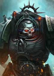 Chaplain in Terminator Armour by Eupackardia