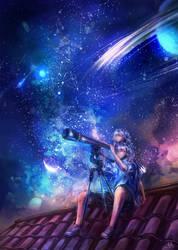 Day-14 stars by MsViVid
