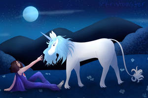 (NSP) Danny and the Last Unicorn Redraw by kristoaster