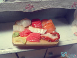 More Sashimi by WaterGleam