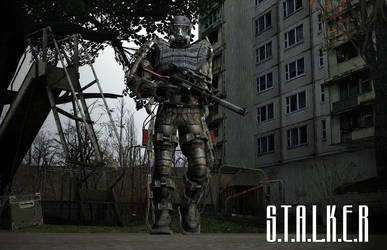 Stalker in an Exoskeleton by AntiMingebag