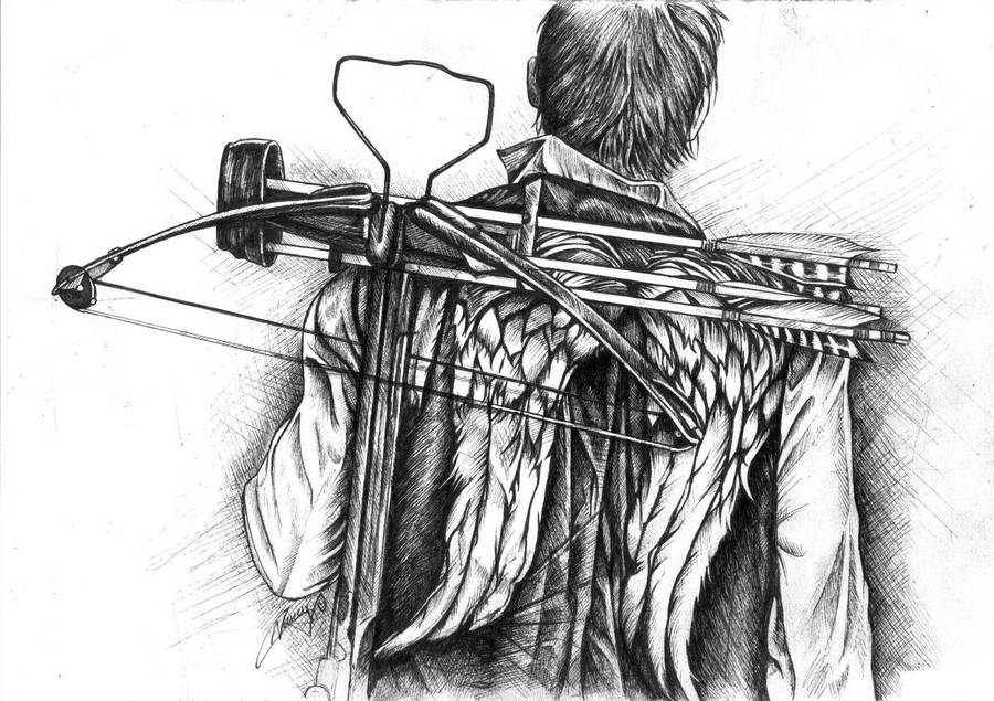 Daryl's Wings by cpn-blowfish
