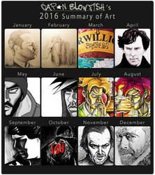 2016 Summary of Art by cpn-blowfish