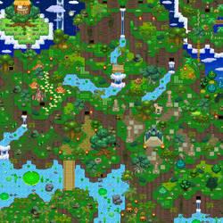 Jungle map by PMUglacies