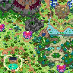 Wonderlandish map~ by PMUglacies