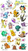 Pokemon Chibi Requests! by Eeveelutions95