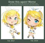 Draw that Again - Chibi Rin by Tiribrush