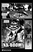 Grenade-Proof Muscle Woman by muscle-fan-comics