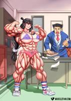 Amazon Ace Attorney by muscle-fan-comics