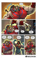 Attribute Theft Amazons by muscle-fan-comics