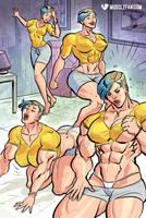 Katie's Muscle Magic by muscle-fan-comics