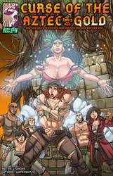 Curse of the Aztec Gold - Xochiquetzal's Revenge by muscle-fan-comics