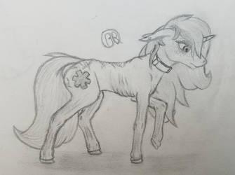sad slave pone by Blastradiuss