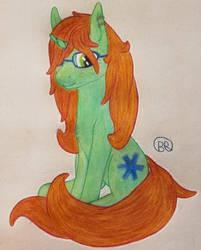 Freckle horse by Blastradiuss