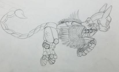 Enclave Power Armor by Blastradiuss