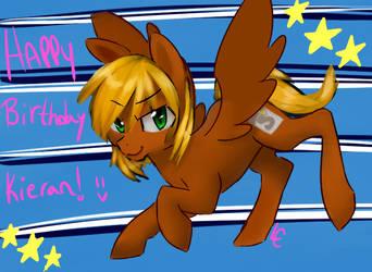 Happy Birthday Kieran by RYukitsume