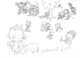 sonic doodles madness by theEyZmaster