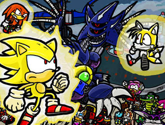 SatBK Contest SONIC HEROES by theEyZmaster