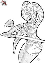 DailyArt Darth Talon by theEyZmaster