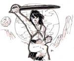 DSC 2014-09-11 John Carter of Mars by theEyZmaster