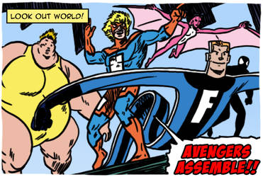 The Great Lakes Avengers by theEyZmaster