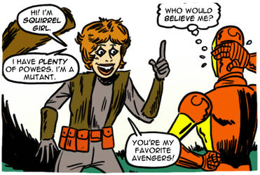 The Coming of... Squirrel Girl! by theEyZmaster