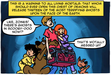 The 13 Ghosts of Scooby-Doo by theEyZmaster