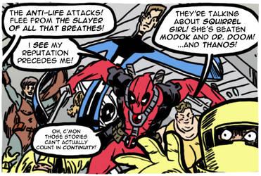 Deadpool/GLI - Summer Fun Spectacular by theEyZmaster