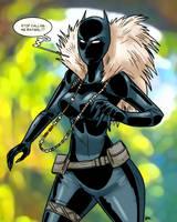 Black Panther!Shuri 01 by theEyZmaster