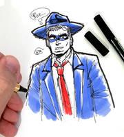 DSC 2018-12-10 Will Eisner's The Spirit by theEyZmaster