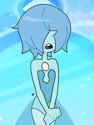 Steven Universe - Blue Pearl 14 by theEyZmaster