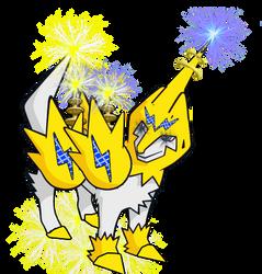 #310 Robo Manectric by ritikmonu