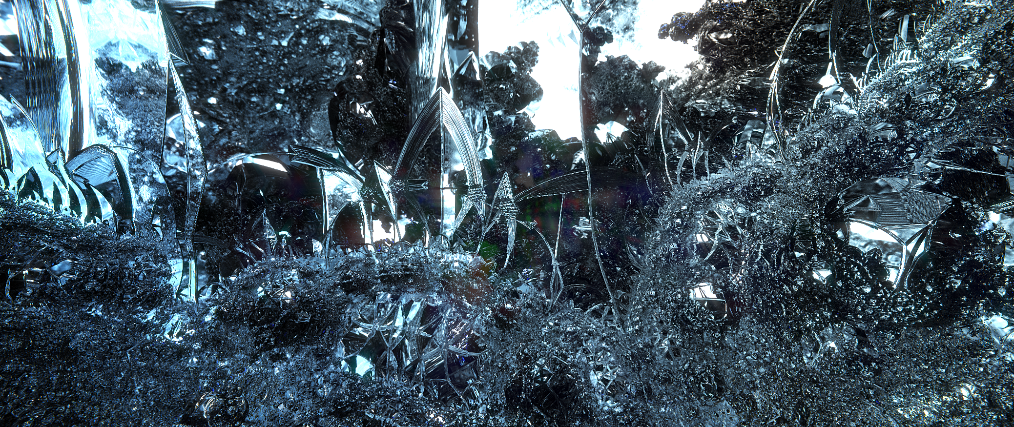 Ice Ruins Fractal By Sono2000 On Deviantart