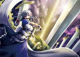 Sword dance by IshidaKazuma