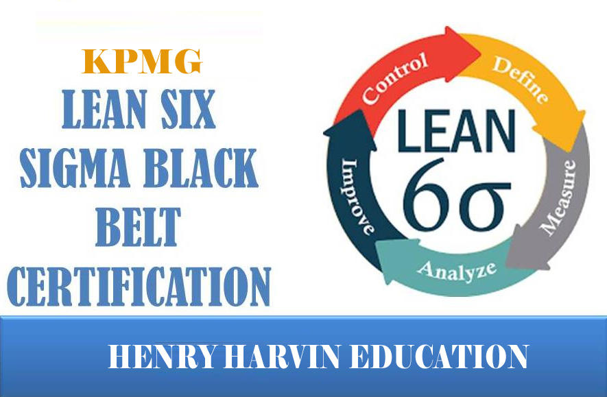 Kpmg Six Sigma Black Belt Certification Program By
