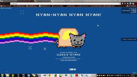 nyan cat record by ecanerdygirl