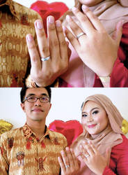 Sita and Rilman Engagement 1 by icachanDesign