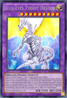 Blue-Eyes Tyrant Dragon by BatMed