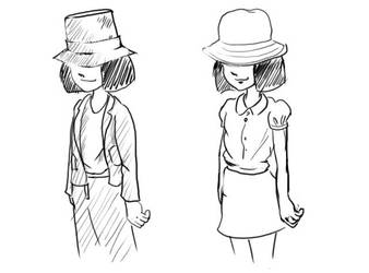 Pi cross dress doodle by crazyoe
