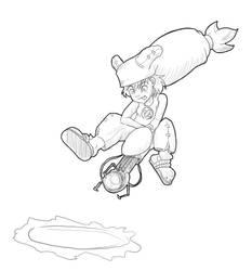 yugo portal crossover doodle by crazyoe