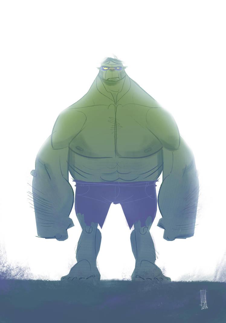 Hulk by andersonnascimento