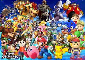 Super Smash Bros tribute by SuperSaiyanCrash