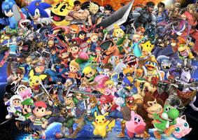 Super Smash Bros Ultimate by SuperSaiyanCrash