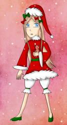 FGO Christmas Abigail by bogidream