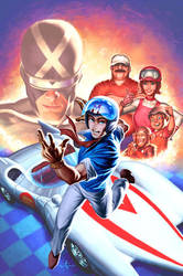 Speed Racer by AlexGarner