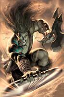 Skaar: Son of Hulk 10 by AlexGarner